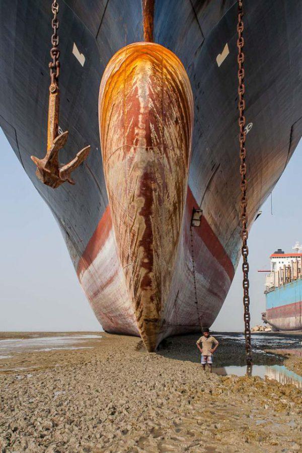 Fotoausstellung: Chittagong — Schlachthof der Schiffe