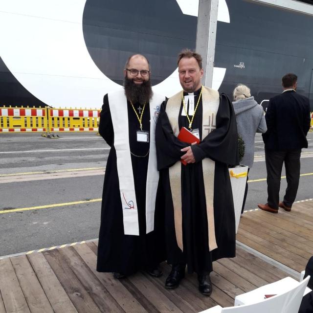 """Containerschiff """"MSC Samar"""" getauft"""