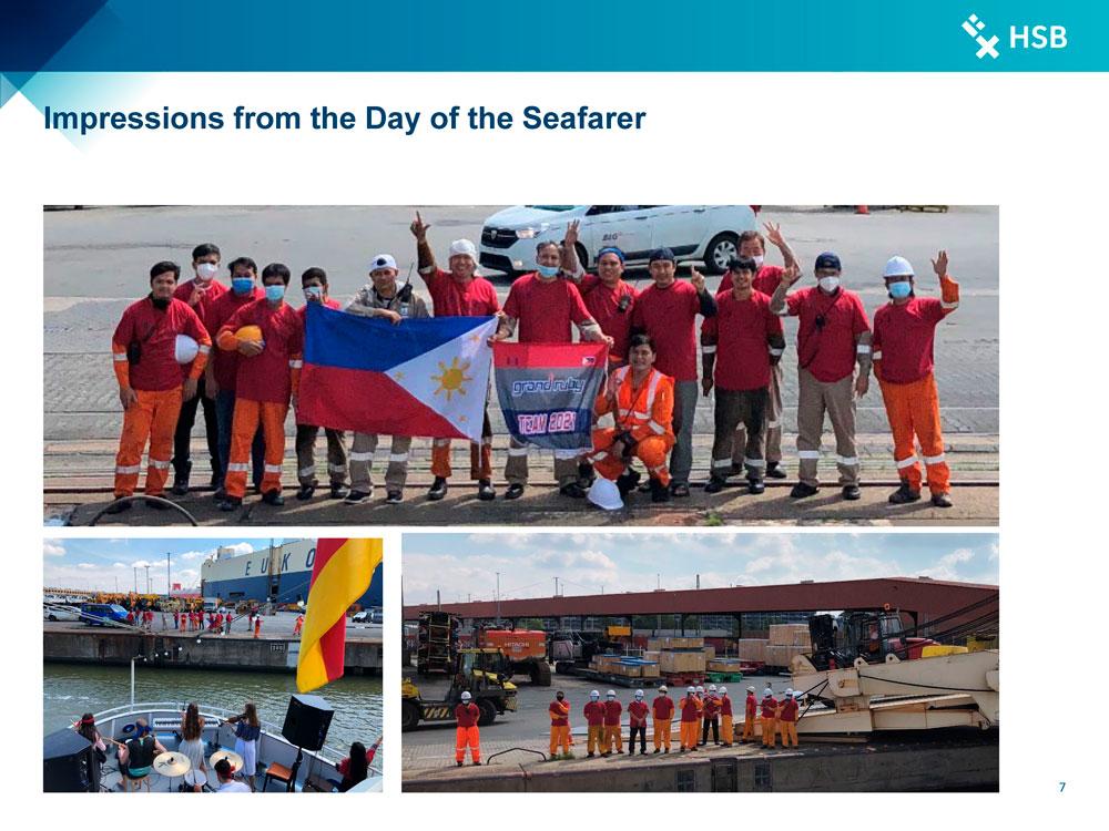 Day of the Seafarer 2021 Bremerhaven